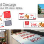 Printing for Semi Annual Campaign - Handouts plus Indoor and Outdoor Signage
